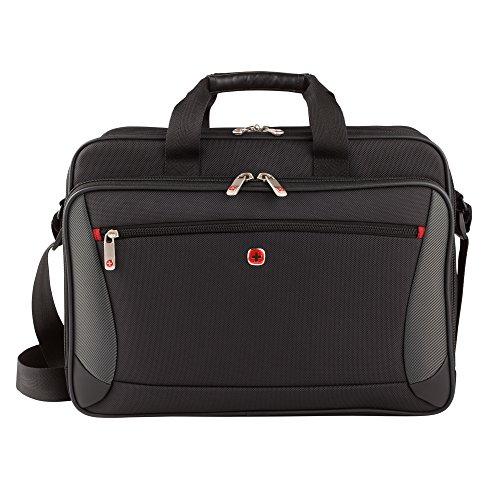 Wenger Luggage Mainframe 15.6' Laptop Brief Bag, Black One Size