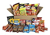 Each box is filled with an assortment of crave-worthy items that address any craving. The snack care package includes the following assortment:(4) 1 oz. Bags of lay's bbq potato chips, (4) 1 oz. Bags of Doritos nacho cheese tortilla chips, (2) 1 oz. ...