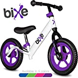 Purple (4LBS) Aluminum Balance Bike for Kids and Toddlers - 12' No Pedal Sport Training Bicycle for Children Ages 3,4,5,6.