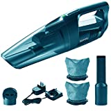 Homasy Cordless Handheld Vacuum Cleaner with LED Light, Cord-Free Car Hand Vacuum with 70W Powerful Motor for Strong Cyclonic Suction