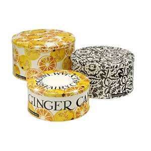 Emma Bridgewater Toast & Marmalade Set of 3 Round Cake TINS, Metal, Various 5186DuKrpYL