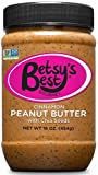 Gourmet Cinnamon Peanut Butter w/ Chia Seeds by Betsy's Best 16 OZ - All Natural and GMO Free