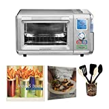 Cuisinart CSO-300 Combo Steam and Convection Toaster Oven (Stainless Steel) Includes 6-Piece Gadget Crock Set and 2 Cookbooks (Renewed)
