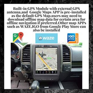 LINKSWELL-Gen-IV-121-Inch-Radio-Replacement-for-F150-2015-to-2019-and-F250F350F450-2017-to-2019-GPS-Navigation-Android-Head-Unit-Multimedia-Player-HDMIBTUSBAUXWiFi-Car-Stereo-TS-FDPU12-1RR-4A