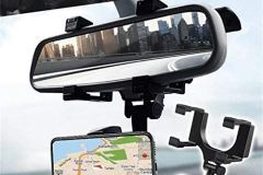 Car Phone Holder for Rear View Mirror Mount Stand – Mobile phones