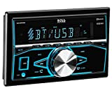 BOSS Audio 820BRGB Car Stereo - Double Din, Bluetooth, (No CD/DVD) MP3/USB AM/FM Radio, Multi Color Illumination