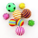 HOLICOLOR-25-Pieces-Cat-Toys-for-Kitten-Includes-Wand-Massager-Balls-Bells-Mice-Catnip-Cushion-More-Colorful