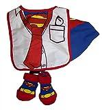 DC Comics Superman Infant Caped Bib and Bootie Set [5011]
