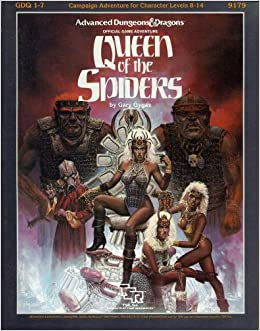 Image result for queen of spiders d&d