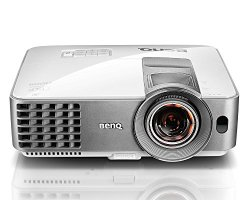"BenQ WXGA DLP Short Throw Projector (MW632ST), 3200 Lumens, WXGA 1280x800, HDMI, 10W Speaker, Keystone, 87""@4.5ft, 1.2x Zoom"