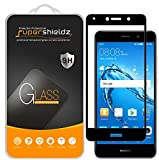 [2-Pack] Supershieldz for Huawei Ascend XT2 Tempered Glass Screen Protector, [Full Screen Coverage] Anti-Scratch, Bubble Free, Lifetime Replacement (Black)
