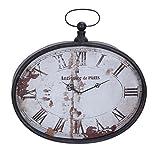 Deco 79 53305 Metal Wall Clock