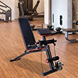 Incline Soozier Flat Weight Bench Preacher Folding Exercise Workout Home Gym
