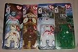 TY McDonald's Teenie Beanies - INTERNATIONAL Bears Set of 4 (1999)