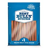 Best Bully Sticks 6-inch Supreme Bully Sticks (25 Pack) All Natural Dog Treats