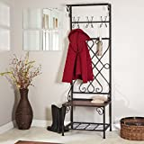 Product review for Loring Entryway Storage Rack Hall Tree