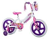 Mongoose Girls Presto Bicycle with 16' Wheels, White