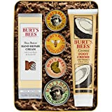 Burt's Bees Classics Gift Set, 6 Products in Giftable Tin - Cuticle Cream, Hand Salve, Lip Balm, Res-Q Ointment, Hand Repair Cream and Foot Cream