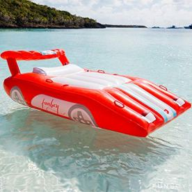 FUNBOY-Inflatable-Red-Sports-Car-Pool-Float