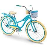 Huffy Cruiser Bike Womens, Holbrook 26 inch, Teal