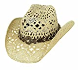 Product review for Montecarlo Bullhide Hats NAUGHTY GIRL Toyo Straw Western Cowboy Hat