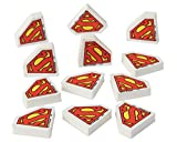 American Greetings Superman Erasers, 12-Count