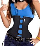 Product review for Latex Lumbar Back Brace 6 steel bones Waist Trainer Corset For Weight Loss