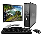 Dell OptiPlex Desktop Complete Computer Package with Windows 10 Home - Keyboard, Mouse, 17in LCD Monitor(brands may vary) (Renewed)