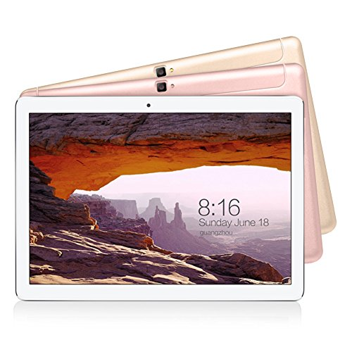 VOYO i8pro 10 inch tablet 3GB RAM and 64GB ROM Android 7.0 tablet computer 10.1 inch IPS screen, Octa-Core, HDMI, Tablet PC, 2+5 MP Camera, GPS, WiFi, USB, Bluetooth (Rose Gold)