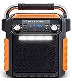 Ion Audio Job Rocker Max Bluetooth Speaker, Orange (Renewed)