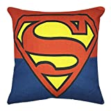 VIPbuy Comic Superhero Cotton Linen Decorative Square Throw Pillow Case Sofa Waist Cushion Cover 18 x18 inches (Superman)