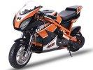 MotoTec 1000w 48v Electric White Superbike Leather Seat Kickstand Key...