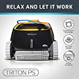 Dolphin Triton PS Automatic Robotic Pool Cleaner with Extra-Large Filter Basket and Superior Scrubbing Power,...