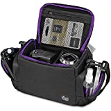 Medium Camera Bag Case by Altura Photo for Nikon, Canon, Sony, Fuji Instax, DSLR, Mirrorless Cameras and Lenses