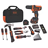BLACK+DECKER 12V MAX Drill & Home...