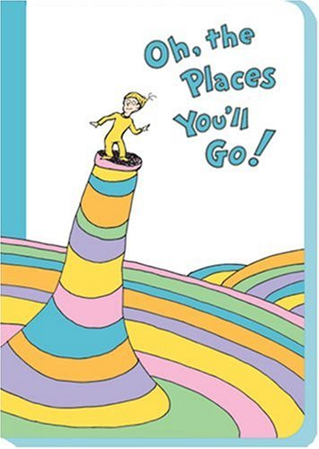 J5 - Oh, the Places You'll Go! Blank Journal