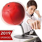 CozyBomB Free Standing Desktop Punching Bag Stress Buster Relief with Stand - Desk Table Boxing Punch Ball with Suction Cup to Reflex Strain and Tension Toys for Boys Father Kids Office Co-Worker