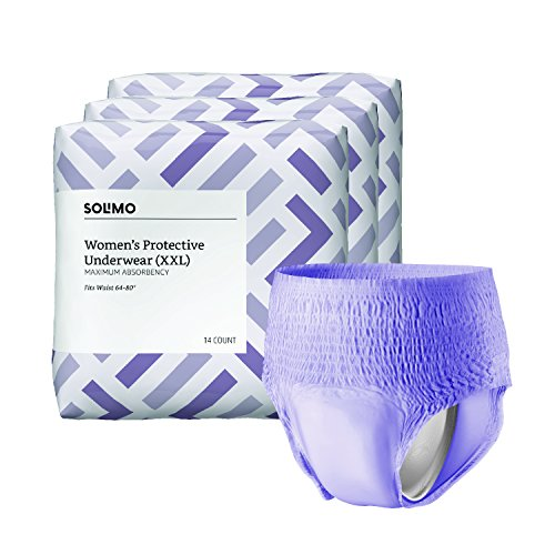 Amazon Brand - Solimo Incontinence...