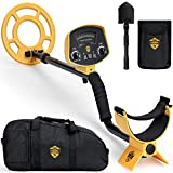 ToolGuards Metal Detector with Carry Bag & Shovel (Newest 2019 Model) Metal Detectors for Adults