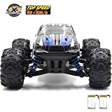 GMAXT Rc Cars,9300 Remote Control Car,1/18 Scale 40km/h,2.4Ghz 4WD High Speed Off-Road Vehicles with 2 Rechargeable Batteries,Give The Child Best Choice