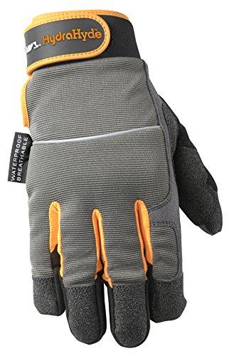 Men's HydraHyde Winter Work Gloves, Waterproof Insert, 40-gram Thinsulate, X-Large (Wells Lamont 7739XL)