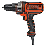 BLACK+DECKER Electric Drill, 3/8-Inch, 4-Amp (BDEDMT)