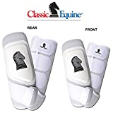 Product review for 4 PACK CLASSIC EQUINE CROSS FIT HORSE LEG BOOT FRONT REAR HIND WHITE - MEDIUM