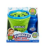 Little Kids Fubbles Blow Tons of Sky High Bubbles Party Machine for Kids & Includes Bubble Solution, Green