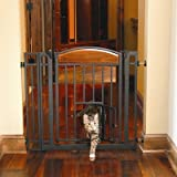 Carlson Pet Products Design Studio Home Decor Walk Through Pet Gate by Carlson Pet Products [Pet Supplies]