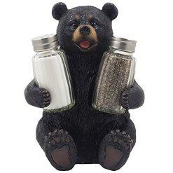 Black Bear Salt and Pepper Shaker Set