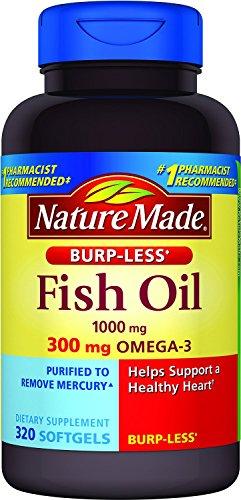 Nature Made Fish Oil Burp-less Softgel