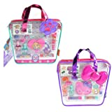 SANRIO Hello Kitty & Paw Patrol Cosmetics in Tote Bag Assorted Set, Multicolor