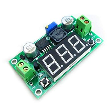 Hailege-2pcs-LM2596-Adjustable-DC-DC-Step-Down-Buck-Power-Convert-Module-40-40V-Input-to-125-37V-Output-with-LED-Voltmeter-Display