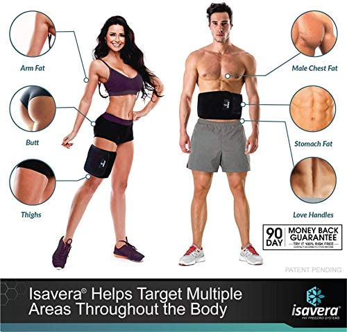 Isavera Fat Freezing System | 'Freeze Fat' at Home | Cold Body Sculpting Wrap/Belt | Helps Target Look of Tummy & Shape Stomach | Fat Freezing Waist Trainer (Fat Loss Alternative) 7